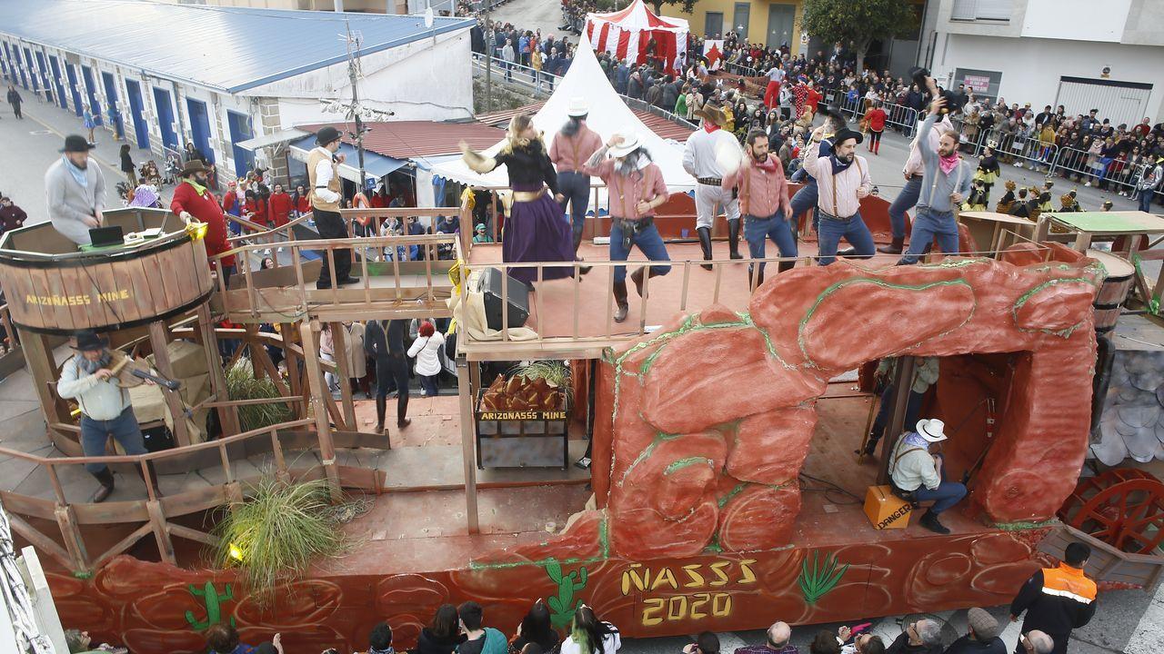 El desfile del Carnaval en Foz