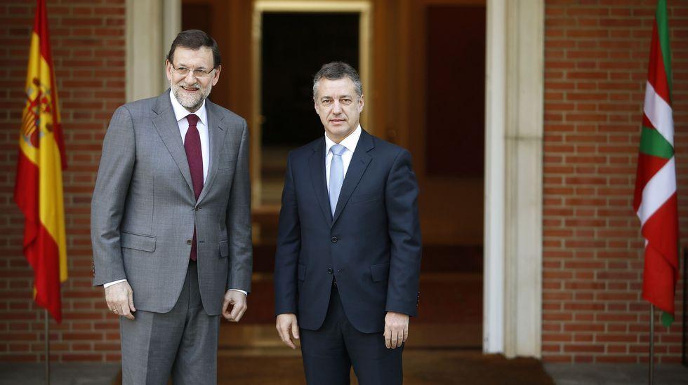 PNV y PSE ratifican su acuerdo de gobierno.El lendakari en funciones Iñigo Urkullu
