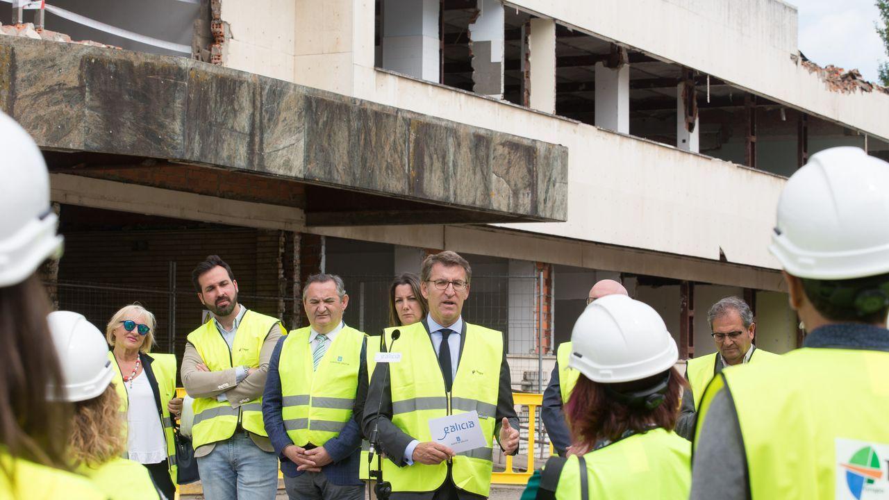 Arranca la última fase de demolición del hospital xeral.Oqo ofrecerá un taller de animación a la lectura