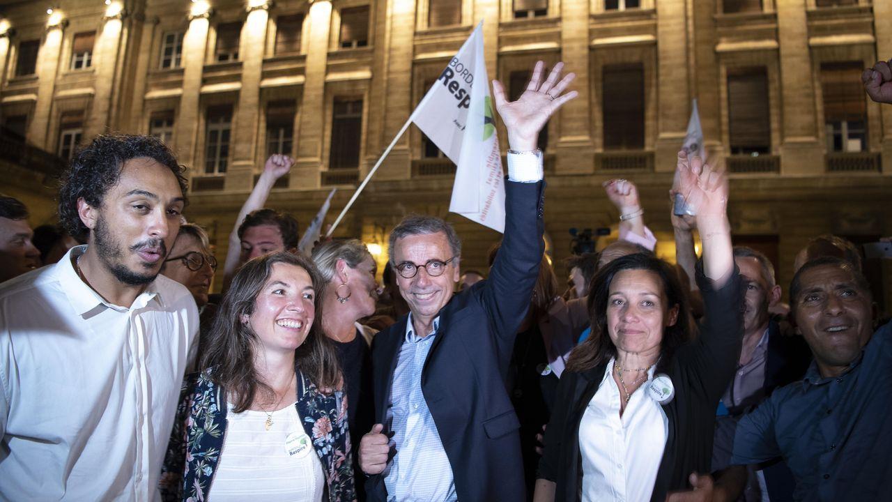 Los ecologistas celebran su triunfo en Burdeos