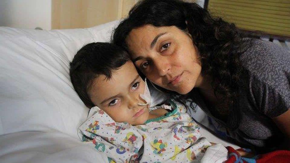«La radioterapia es muy fuerte para un niño de cinco años»