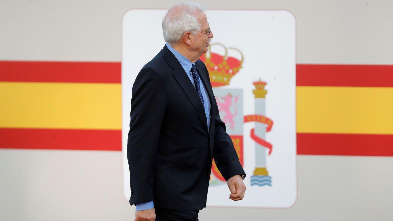 Desfile del Dia de la Fiesta Nacional: Josep Borrell