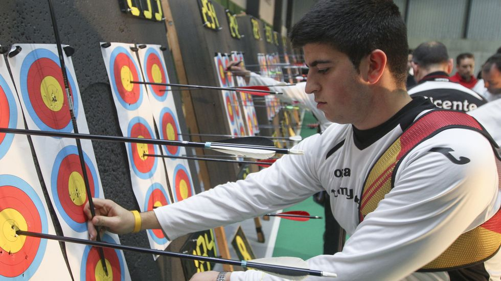 El arquero Miguel Alvariño competirá al aire libre en Madrid