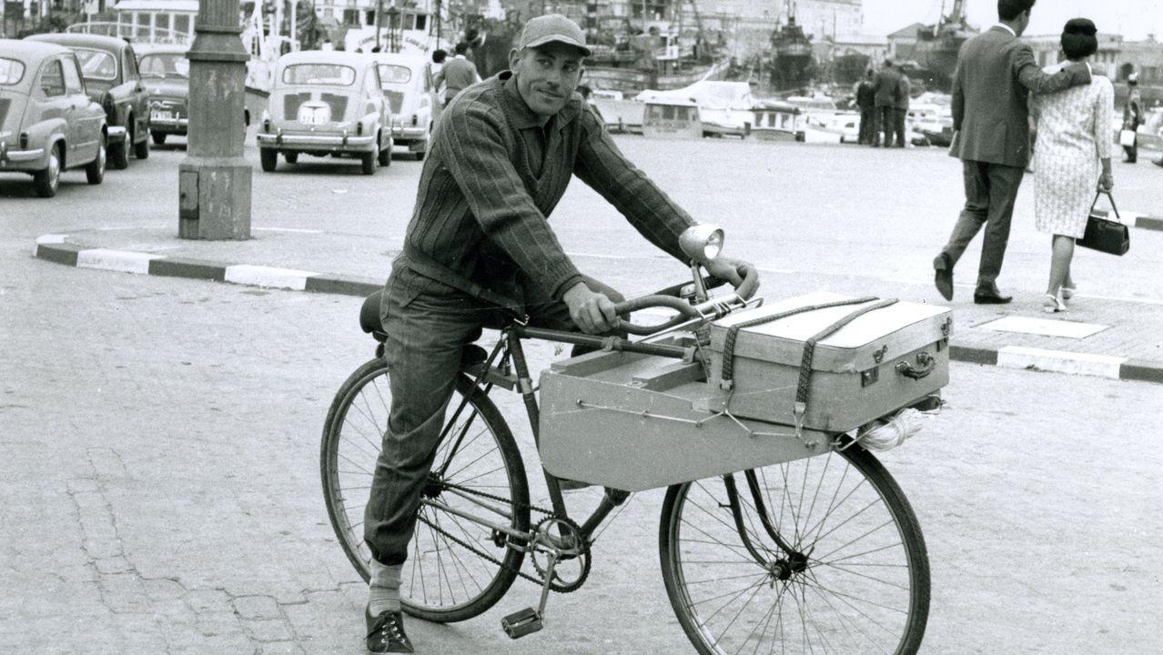 Un turista madrileño en A Coruña, en verano del 66