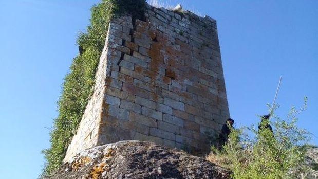 Tramo del Camino de Invierno, a su paso por la Ribeira Sacra, entre Diomondi y Belesar