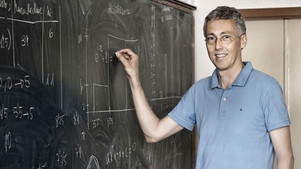 Iván Area, profesor de la escuela de ingeniería de UVigo y representante de esa universidad en la CIUG