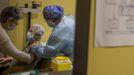 En Ourense han recibido la primera dosis de la vacuna cerca de 9.000 personas