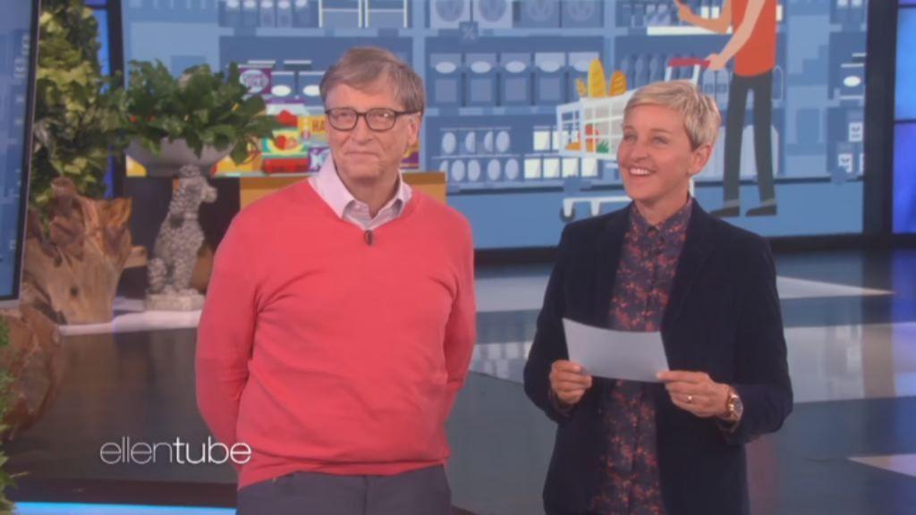 El «precio justo» al que Ellen Degeneres sometió a Bill Gates.Fue recibido como una estrella en Santiago