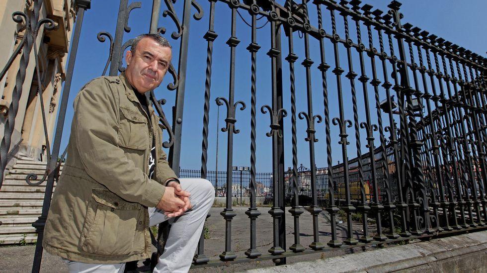 El escritor madrileño Lorenzo Silva, en Gijón