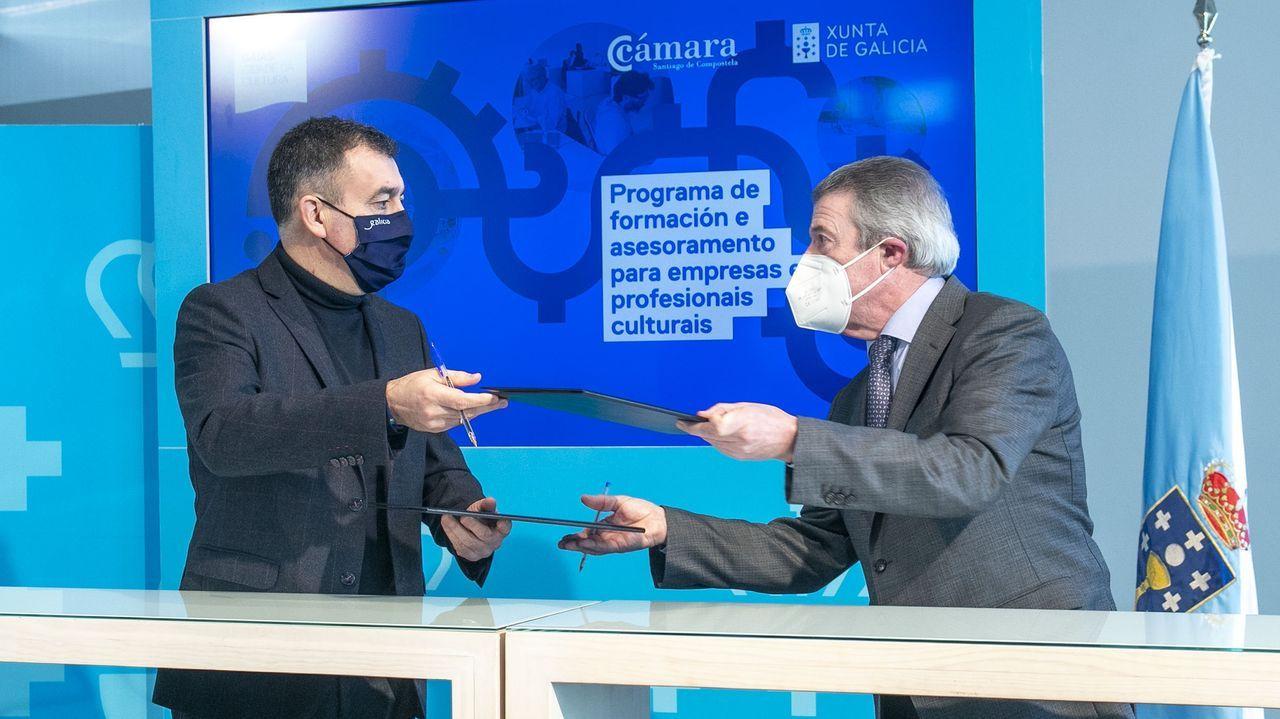 Jornada de protestas de la hostelería gallega.El convenio busca ofrecer un asesoramiento profesional