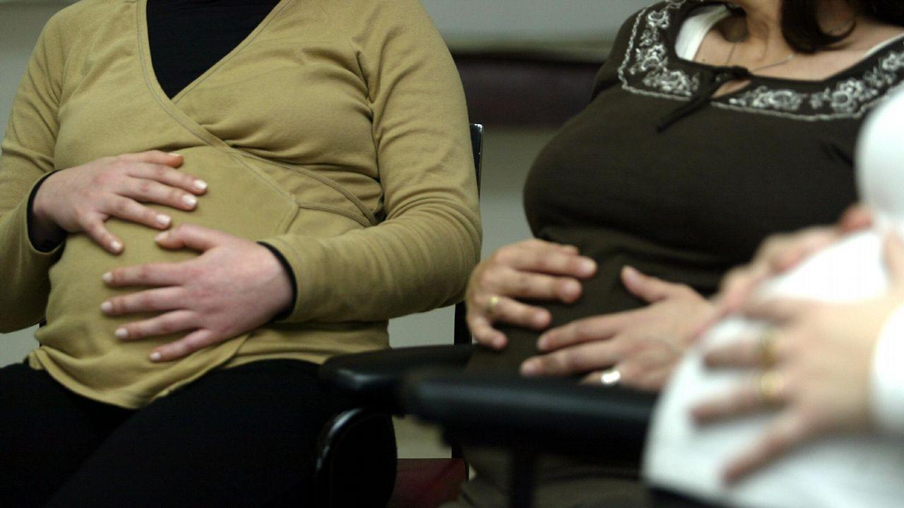 Tamara Gorro muestra su tripa tras es el embarazo.Miriam Ruiz
