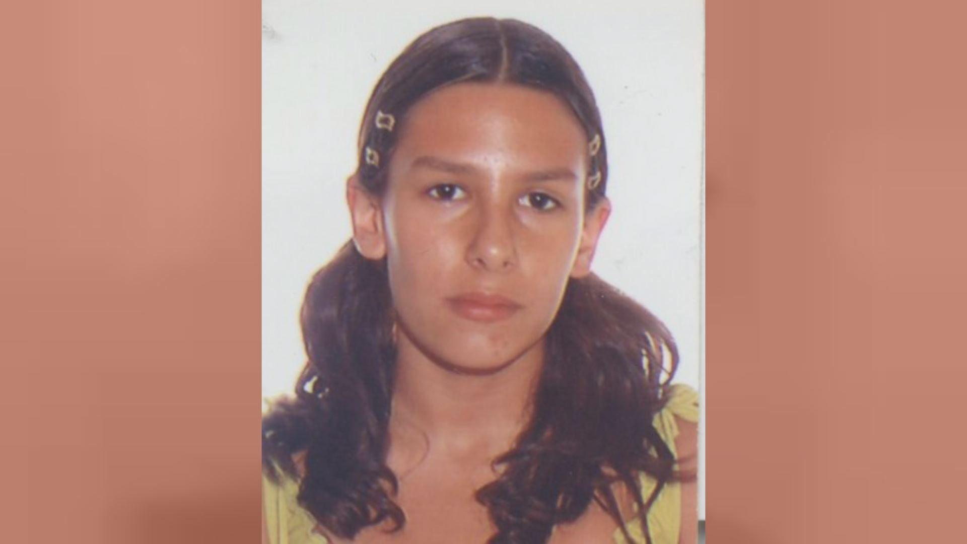 Imagen de Sara Morales en el momento de su desaparición