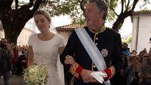 José María Michavila llevó al altar a su hija Irene