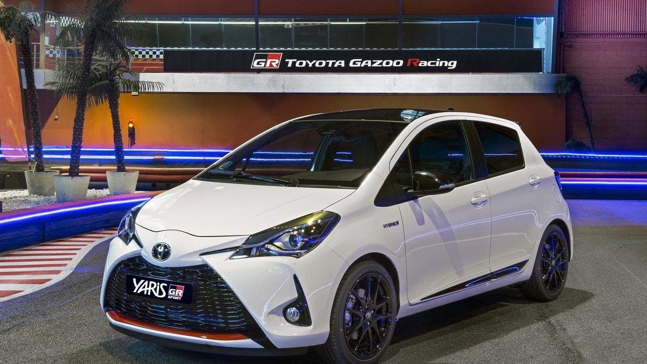 El coche más caro del mundo, en el salón de Ginebra.El nuevo modelo GR-Sport del Toyota Yaris