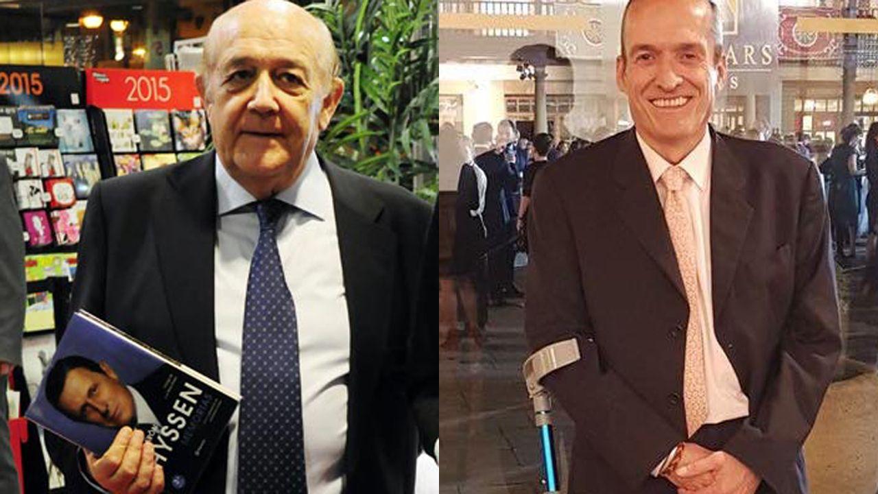 La Fundación Princesa suma apoyos.José Antonio Olivar y Felipe Escudero