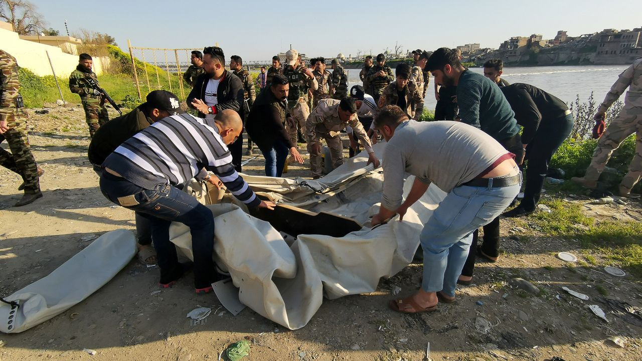 El naufragio en el Tigris se ha cobrado al menos medio centenar de vidas