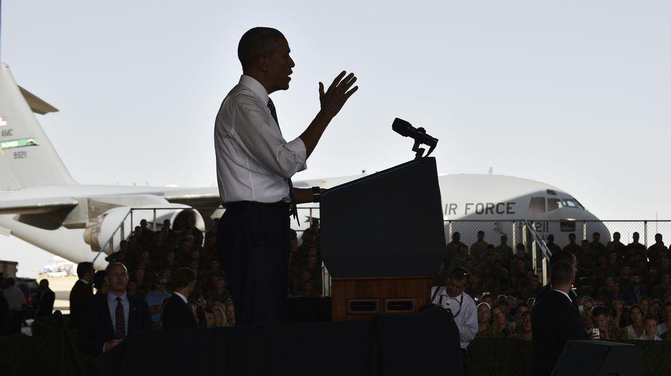 La visita de Obama a España en imágenes