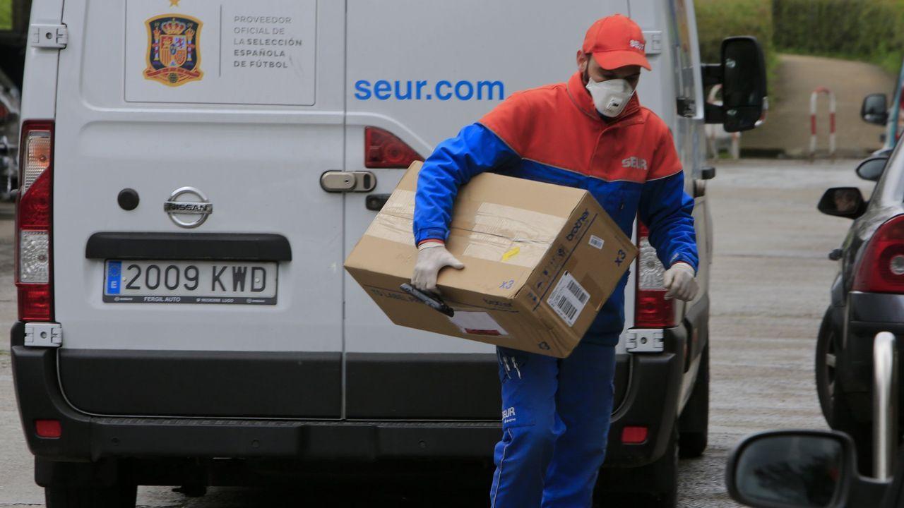 En los portales de Internet se ofertan varios empleos de repartidor