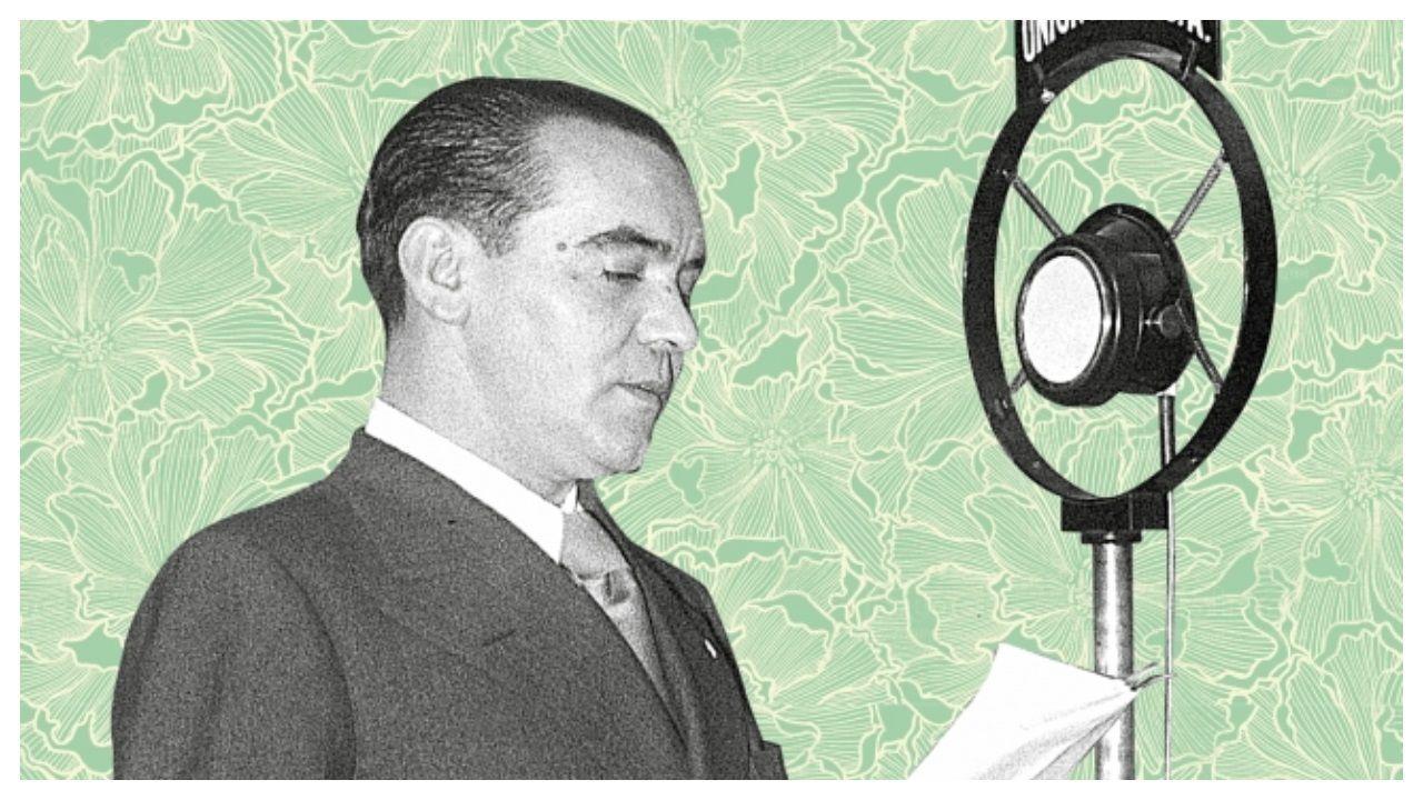 Detalle de la ilustración de portada del libro «De viva voz» que publica Debolsillo