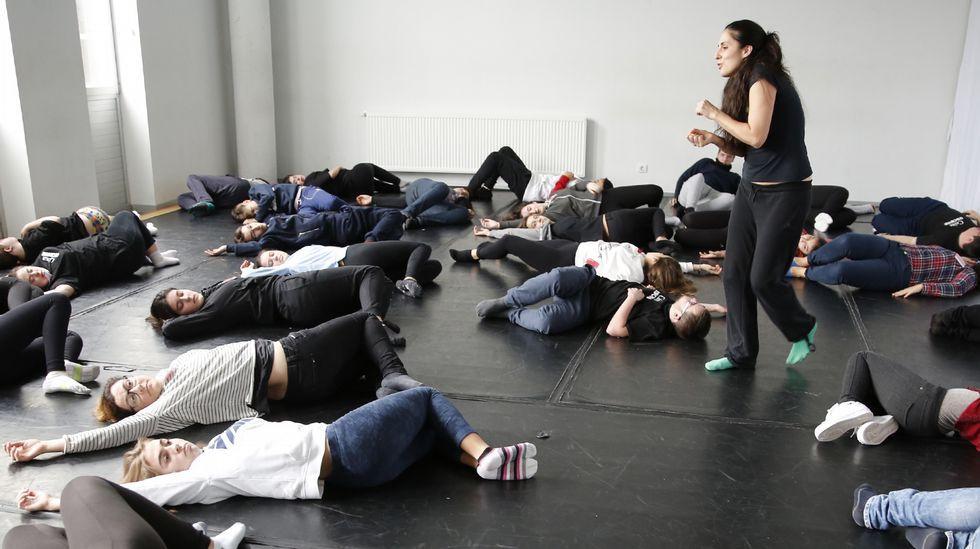 Actividad de la Escola Superior de Arte Dramática de Galicia