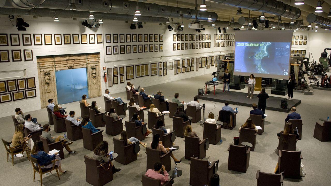 Imagen de la selectividad del 2020 en el campus ferrolano