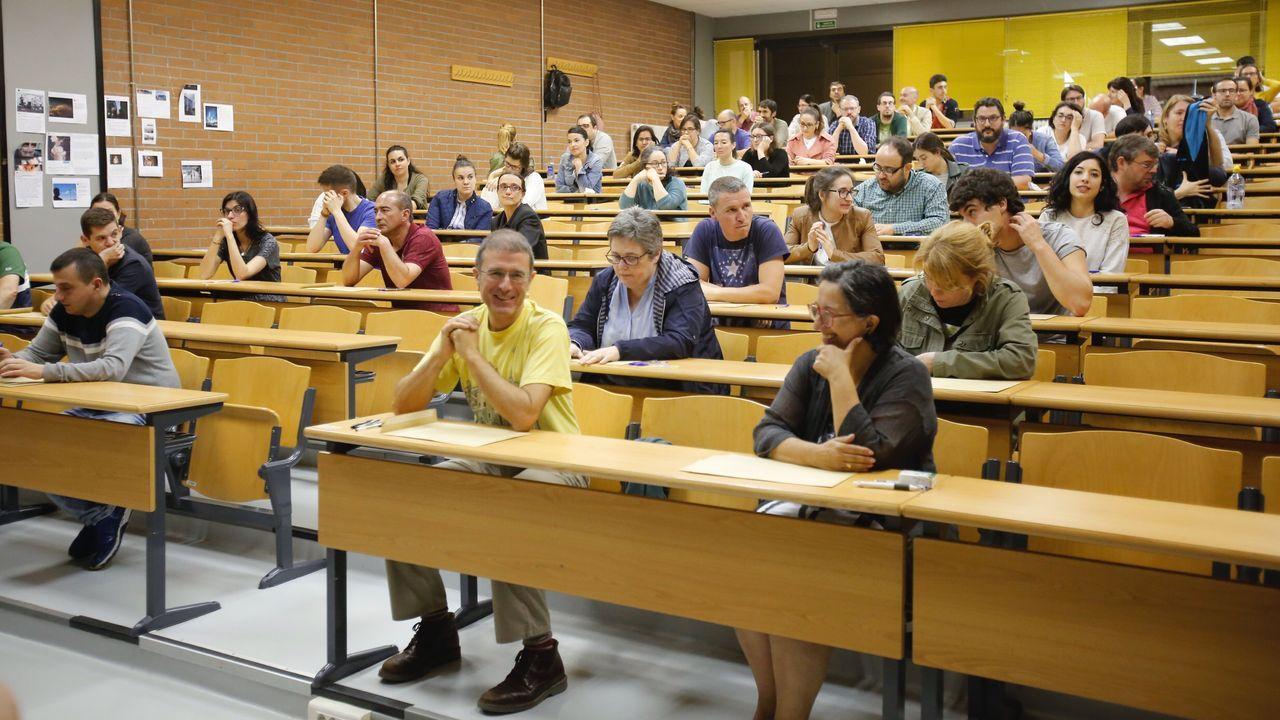 Imagen de archivo de unas oposiciones para profesores de Matemáticas en junio del 2019, antes de la pandemia