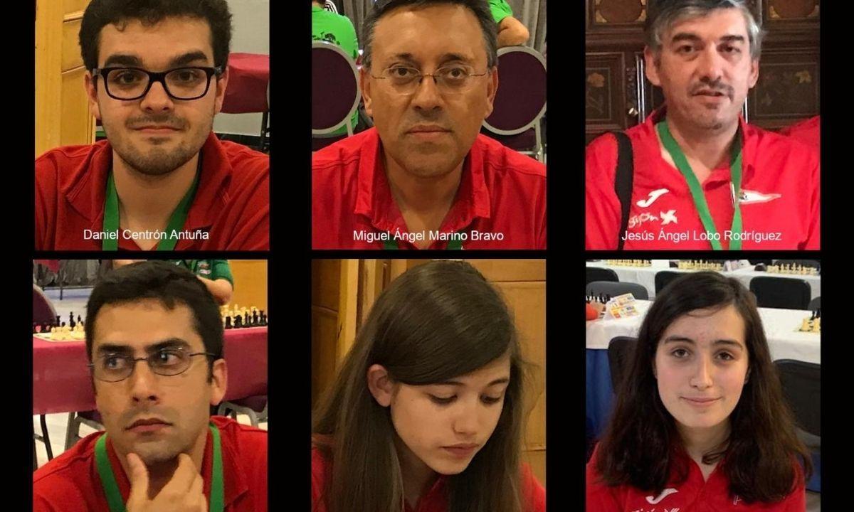 Alineación del Grupo Covadonga para el Campeonato de España