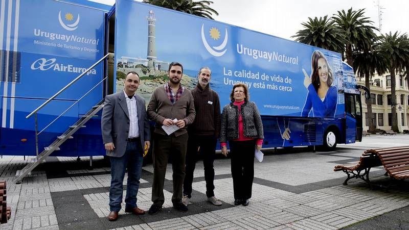 Uruguay presenta su oferta turística