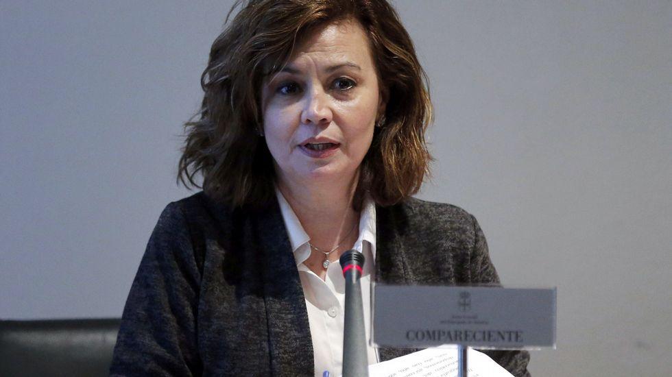 La Fiscal Superior del Principado de Asturias, María Esther Fernández