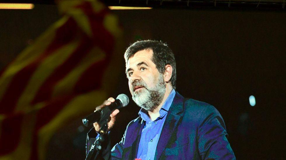 Jordi Sanchez.Imagen de las últimas elecciones autonomicas celebradas en Cataluña