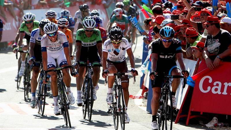 La tercera etapa de la Vuelta a España, en imágenes