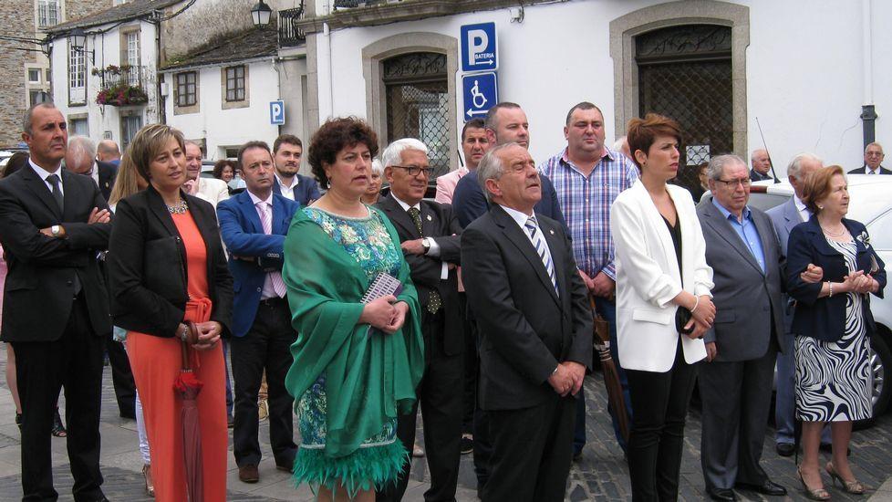 Homenaje a Darío Villanueva en Vilalba