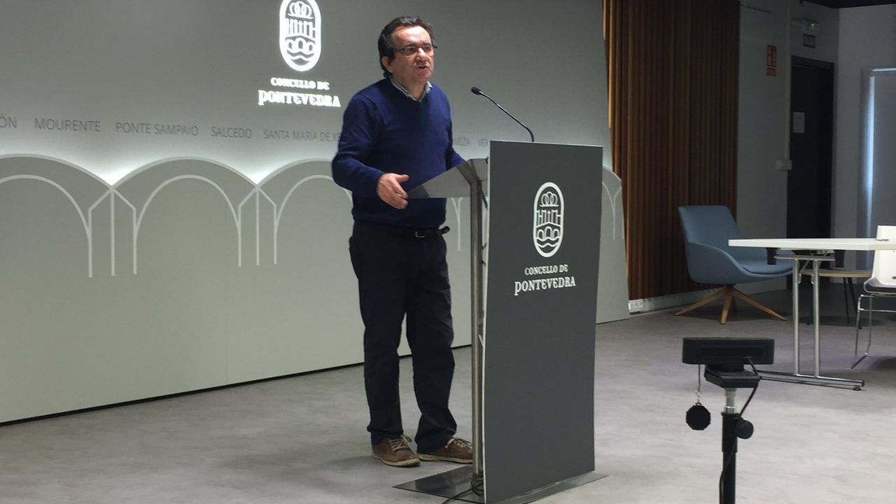 Raimundo González Carballo, concejal responsable de la gestión de residuos en Pontevedra