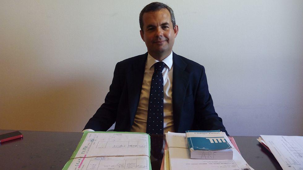 Alberto Rodríguez, fiscal delegado de Delitos relacionados con la Discriminación y el Odio en Asturias