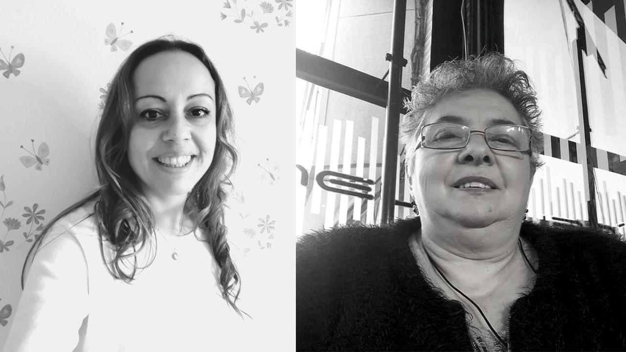 Ruth del Río, a la izquierda, y Carmen Vega, a la derecha, a pesar de haber pasado el coronavirus aún tienen sus secuelas