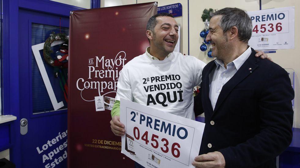 La Lotería de Navidad, en imágenes.Benito Ordoñez