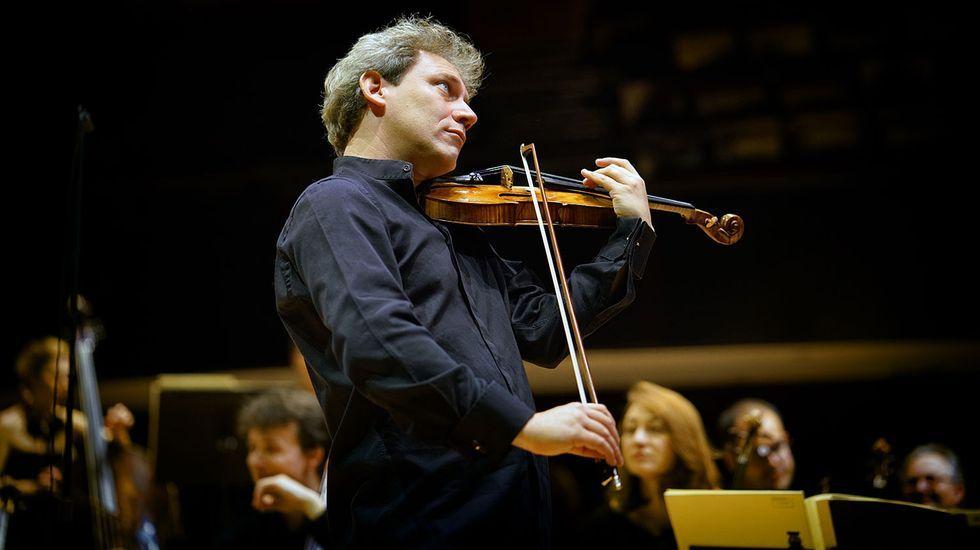 El violinista y director francés David Grimal actuará en Lugo