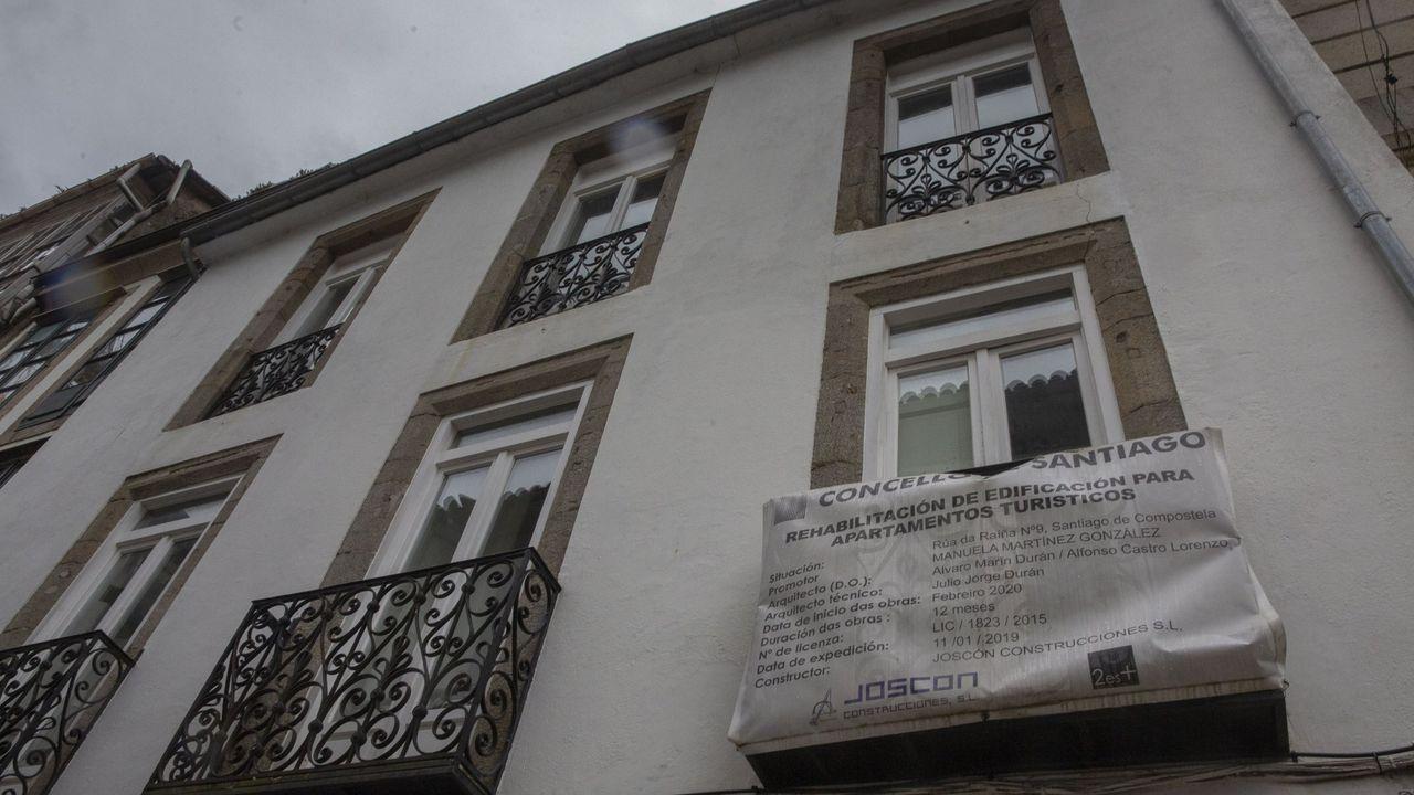 Inauguración del edificio de la Seguridad Spcial, en Viveiro.Oposiciones para administrativo de la Xunta, este pasado fin de semana en Silleda