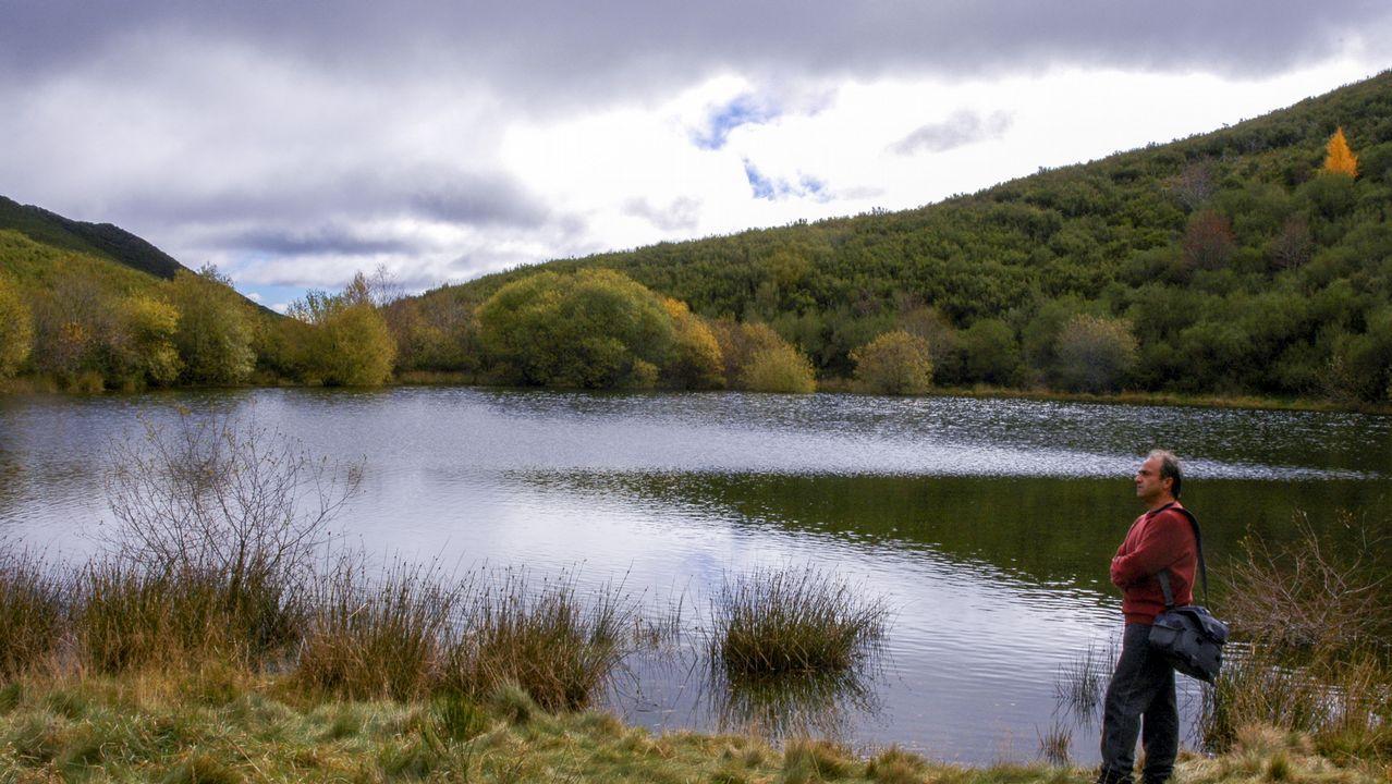 La laguna es uno de los parajes más emblemáticos de la sierra