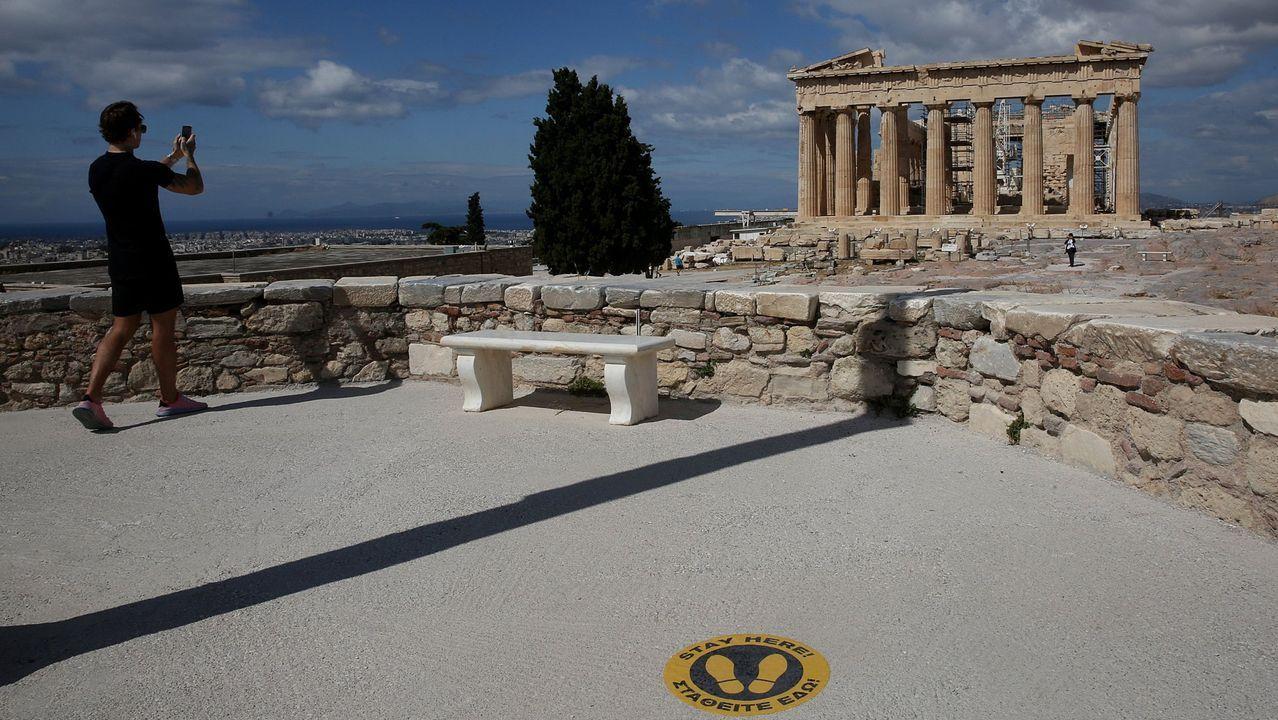 En Grecia este año esperan sobre todo visitantes alemanes y búlgaros