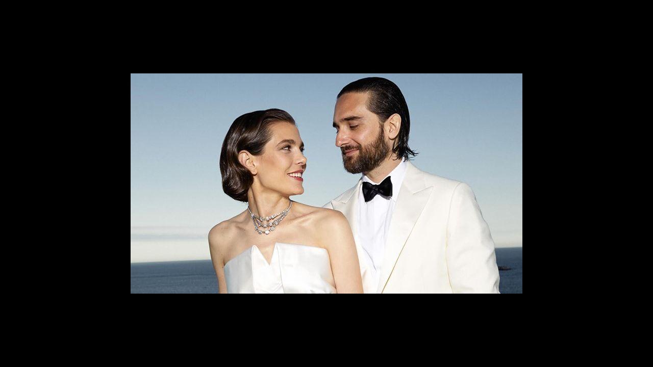 Fotografía facilitada por la Fundación Rafa Nadal del tenista Rafa Nadal y Mery Perelló, ayer sábado en sa Fortalesa, el lugar elegido para el enlace matrimonial