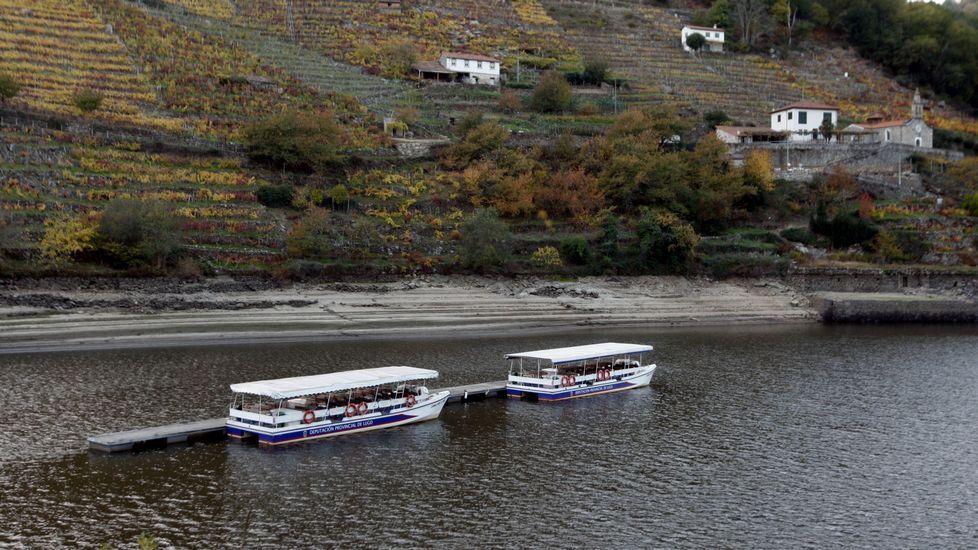 Rescate de una barca de paso tradicional del Miño