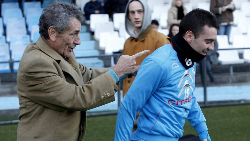 Álbum: Celta 2 - Granada 1.Herrera recibió el respaldo público de Mouriño a principios de febrero