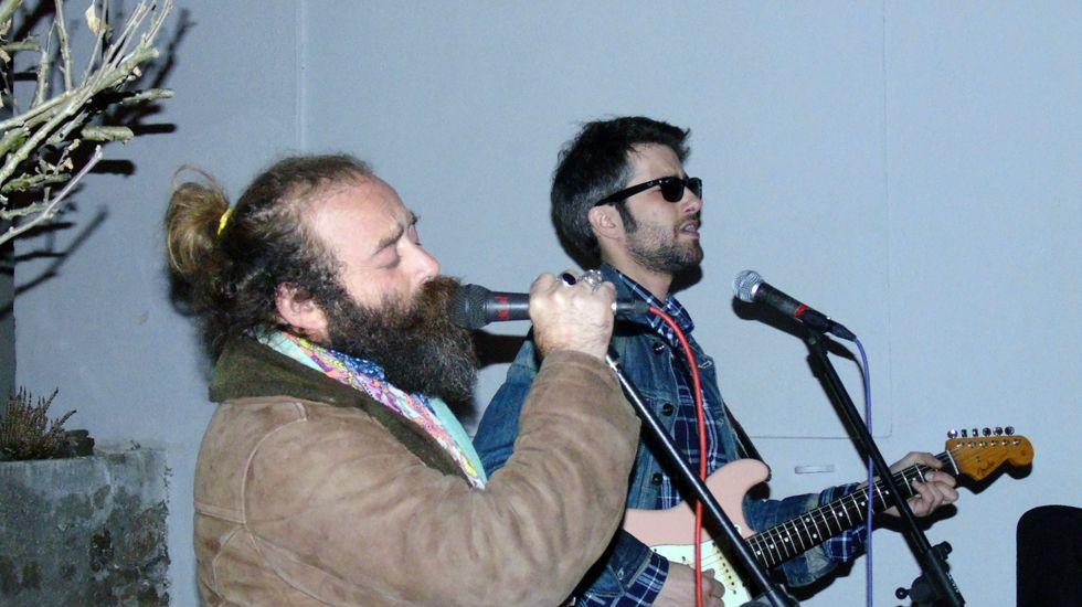 Israel Sastre y Mike Vergara.Israel Sastre y Mike Vergara