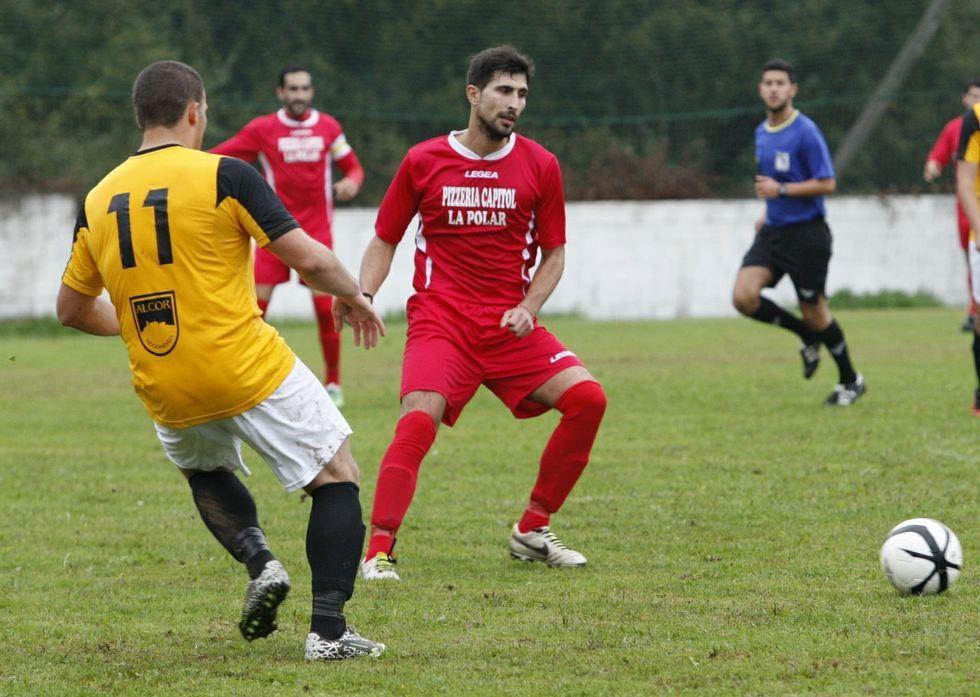 Los futbolistas del Bóveda no fueron capaces de recuperar el liderato ante el Chantada B.