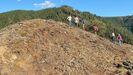 Un aspecto do xacemento arqueolóxico de Penas do Castelo, que será visitado durante a semana cultural de Salcedo