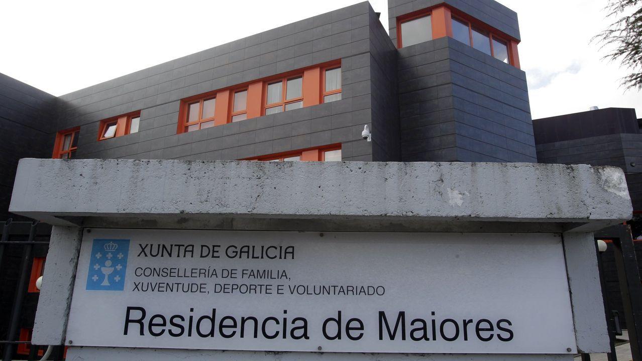 Prueba del covid-19 en el hospital Meixoeiro