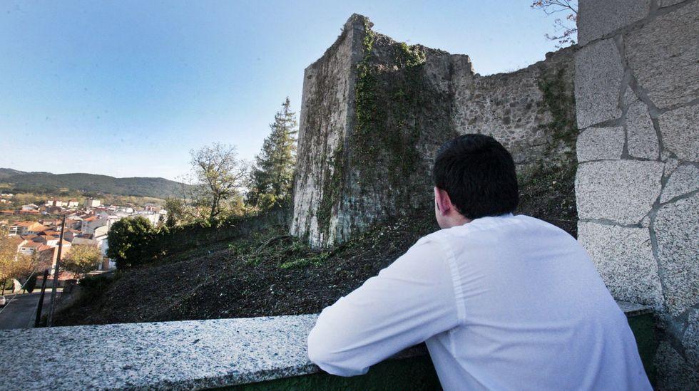 La Torre dos Cregos, al fondo, sigue siendo propiedad de la Casa de Alba