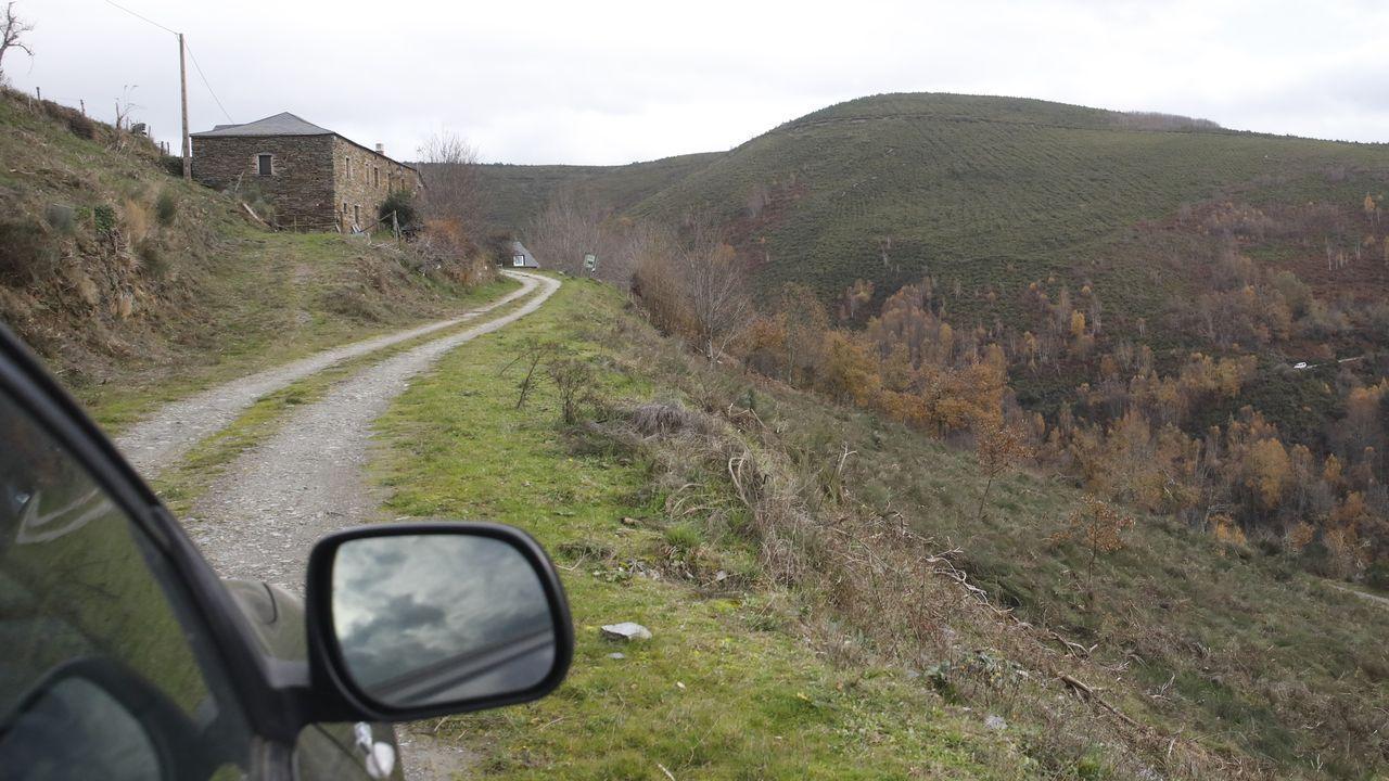 Los malos accesos a la aldea de Fuente de Oliva