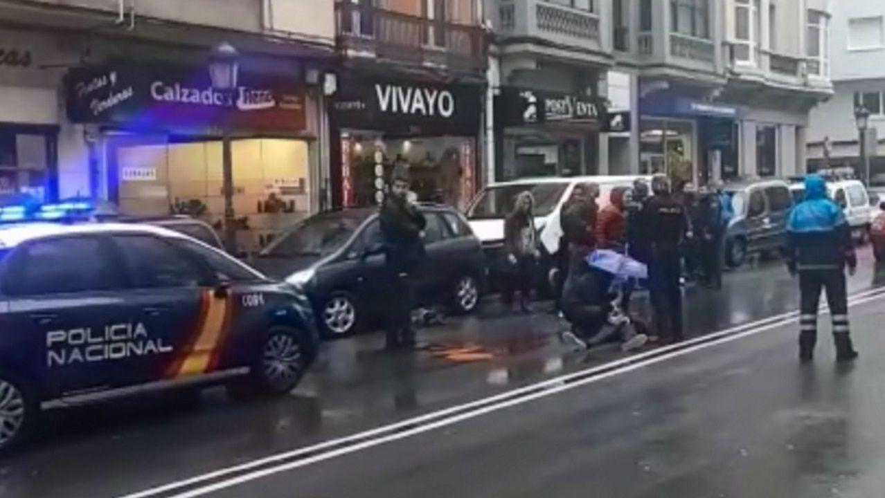 Atropello en San Andrés.Los 2.000 euros recuperados por la Policía en Gijón